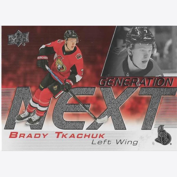 2019/20 Collecting Card Upper Deck Generation Next #9