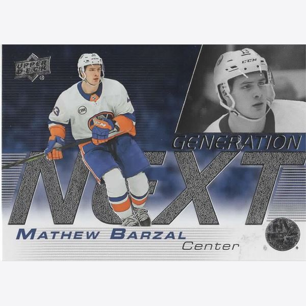 2019/20 Collecting Card Upper Deck Generation Next #1