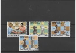 Barbados 1984 Stamp Mi609-12 mint NH **