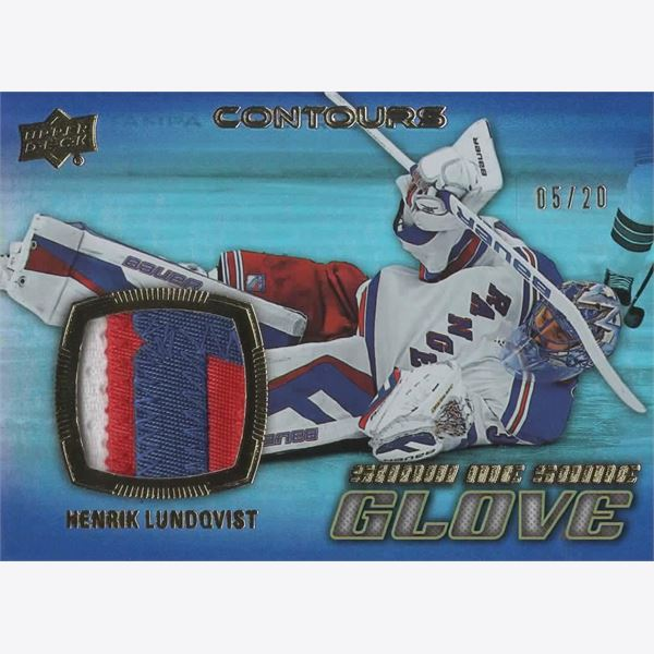 2015-16 Samlarbild UD Contours Show me some Glove Patch