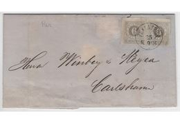 Sweden 1874 Cover F20