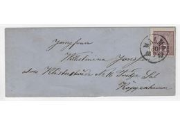 Sweden 1867 Cover F15