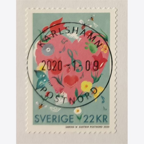 Sweden 2020 Stamp  Stamped