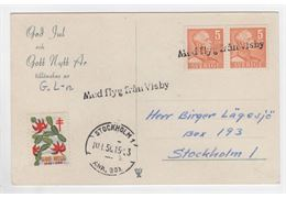 Sweden 1950 Cover 272