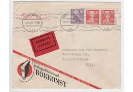 Sweden 1942 Cover 273+338