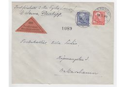 Sweden 1948 Cover F276+9