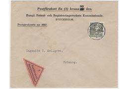 Sweden 1942 Cover F339