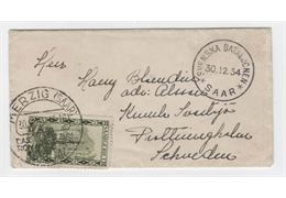 Sweden 1934 Cover