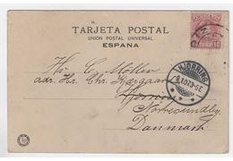 Spain 1907 Cover