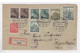 Czechoslovakia 1939 Cover
