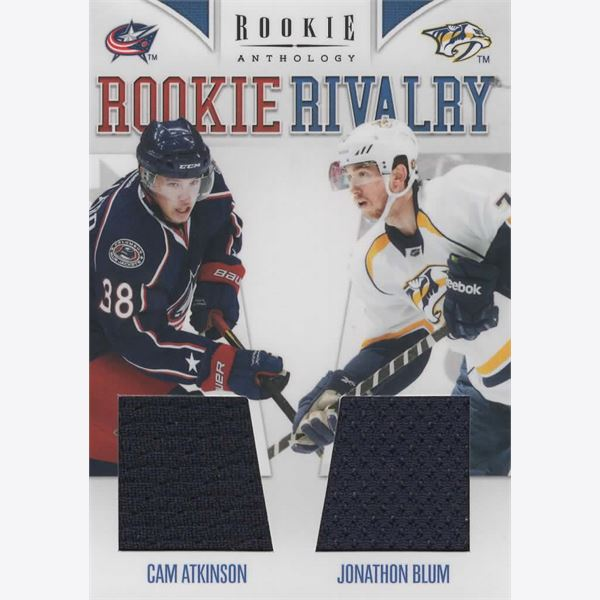 2011-12 Samlarbild Panini Rookie Anthology Rookie Rivalry Dual Jerseys 18