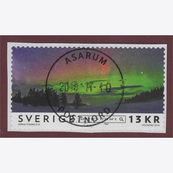 Sweden 2016 Stamp F3157 Stamped