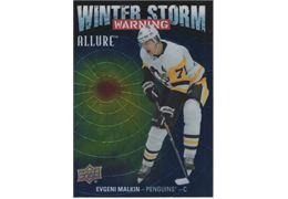 2019-20 Collecting Card Upper Deck Allure Winter Storm Warning #WSW9