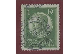 Sweden 1924 Stamp F208 Stamped