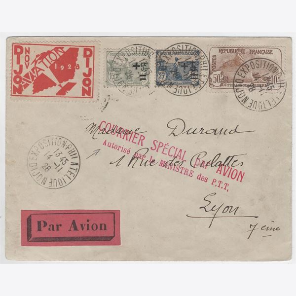 France 1928 Cover