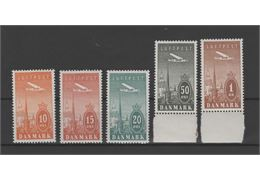 Denmark 1934 Stamp F262-6 mint NH **