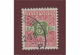 Denmark Stamp FTI9 Stamped