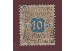 Denmark Stamp FTI10 Stamped