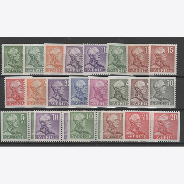 Sweden 1939-48 Stamp F271-83 mint NH **