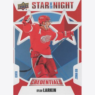 2019-20 Collecting Card Upper Deck Credentials 2nd Star of the Night #2S02
