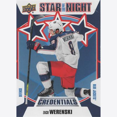 2019-20 Collecting Card Upper Deck Credentials 3rd Star of the Night #3S01