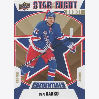 2019-20 Collecting Card Upper Deck Credentials 1st Star of the Night #1S09