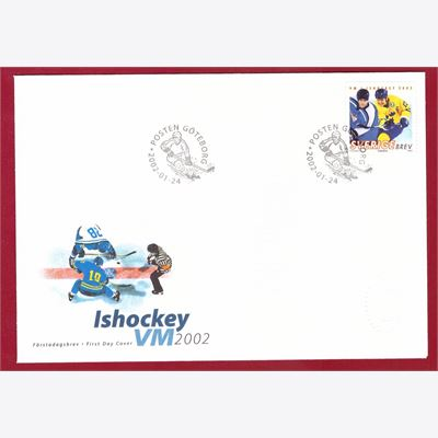 Sweden 2002 Cover F2288