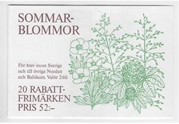 Sweden Booklet H436