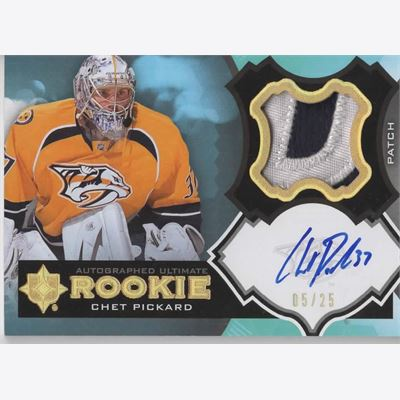 2012-13 Collecting Card Ultimate Collection Rookie Patch Autographs #37