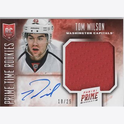 2013-14 Collecting Card Panini Prime Prime Time Rookies Jerseys Autographs #RKTW