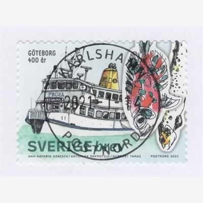 Sweden 2021 Stamp  Stamped