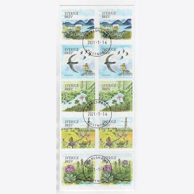 Sweden 2021 Booklet SH123 Stamped