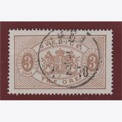 Sweden Stamp FTj1 Stamped