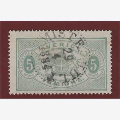 Sweden Stamp FTj3 Stamped