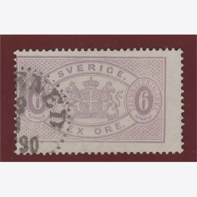 Sweden Stamp FTj15 Stamped
