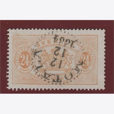 Sweden Stamp FTj20 Stamped