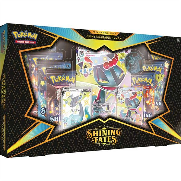 Pokémon, Shining Fates, Premium Box: Shiny Dragapult