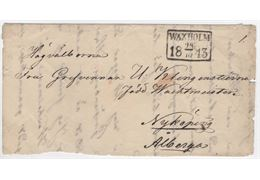 Sweden 1843 Cover