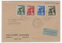 Norway 1946 Cover F347-50
